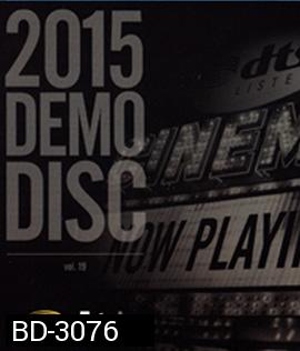 2015 DTS DEMO DISC