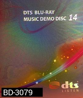 DTS BLU-RAY MUSIC DEMO DISC 14