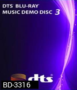 DTS Blu-Ray Music Demo Disc-3