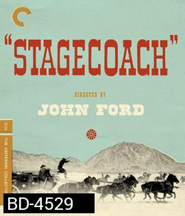 Stagecoach (1939) The Criterion Collection {ภาพ ขาว-ดำ}