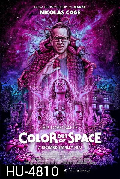 Color Out of Space (2020) มหันตภัยสีสยองโลก
