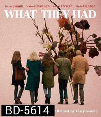 What They Had (2018) Netflix