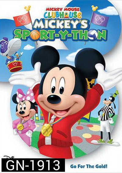 Mickey Mouse Clubhouse  Mickeys Sport-Y-Thon