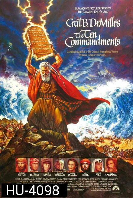 The Ten Commandments [1956]